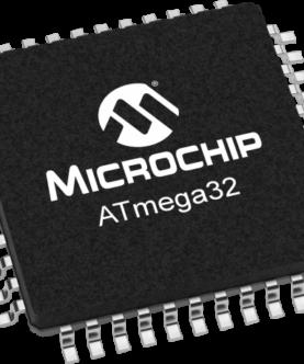 ATMEGA32A-AU پکیج SMD اورجینال